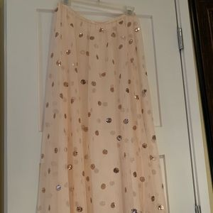 NWOT FREE PEOPLE MAXI SKIRT